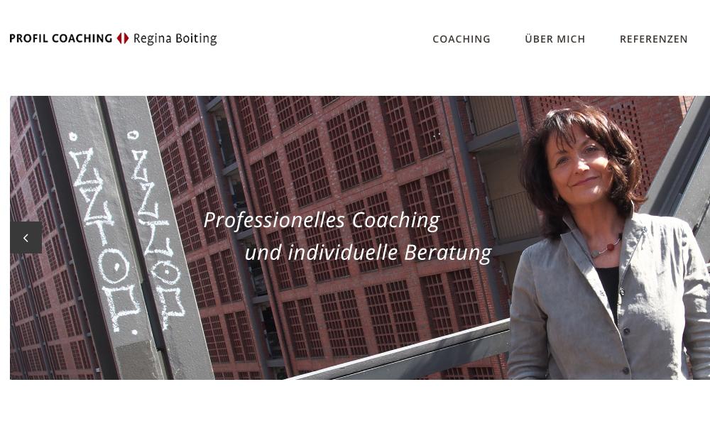 Homepage Regina Boiting