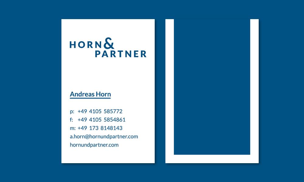 Horn-und-Partner-Visitenkarten